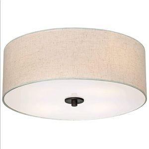 Ceiling light flush mount 18'